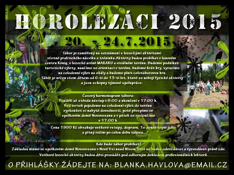 HOROLEZÁCI 2015